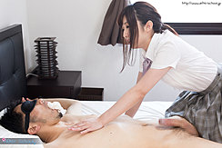 Astride Student Naked On Bed