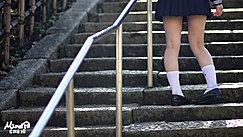 Kogal Walking Up Steps