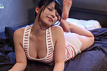Rin Stripping On Bed And Masturbating With Toy