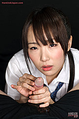 Student Holding His Cock In Her Hands Stroking Tip