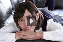 Breasty Student Fujikawa Reina Masturbating Fucked From Behind
